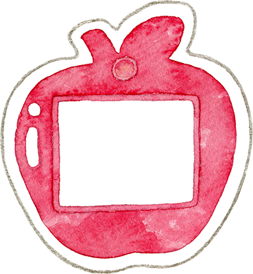 ④赤色の名札