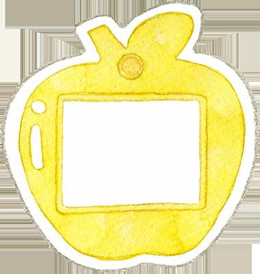⑨黄色の名札