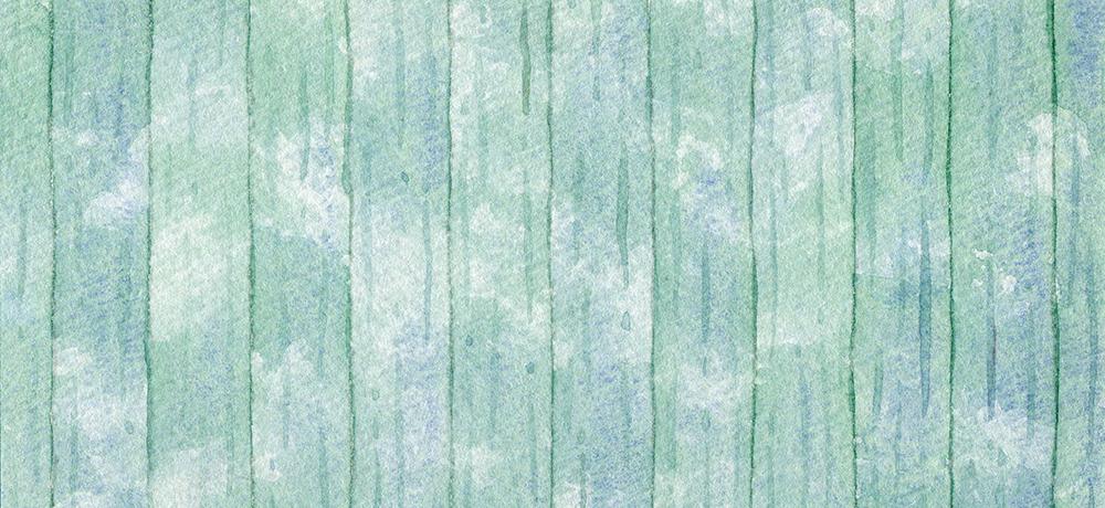 緑色の木目の水彩イラスト